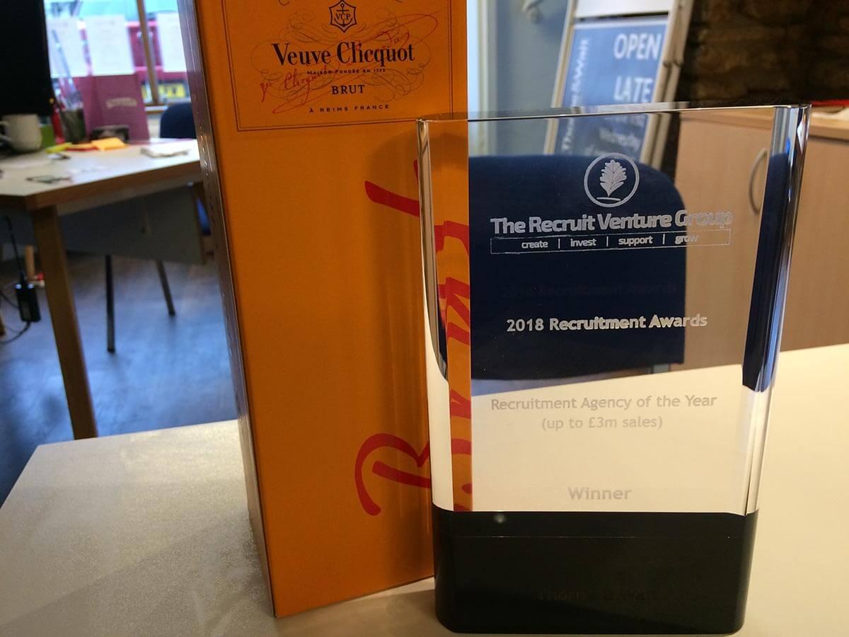 Recruitment Awards Ceremony 2018 Award